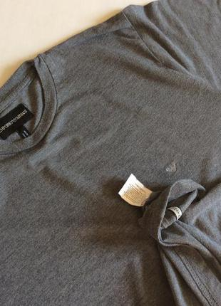 Мужская футболка emporio armani оригинал  размер s-m
