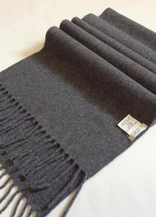 Мужской шарф eton оригинал lux шерсть ( кашемир)