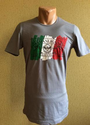 Мужская футболка armani jeans оригинал размер l(s-m)