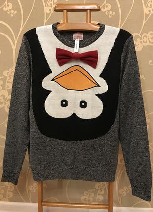Нереально красивый вязаный свитер.