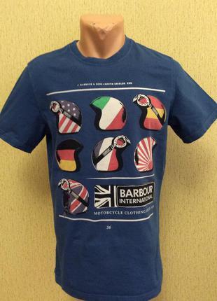 Футболка barbour international оригинал размер m (s-m)