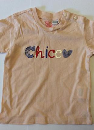 Детская футболка chicco 86-92
