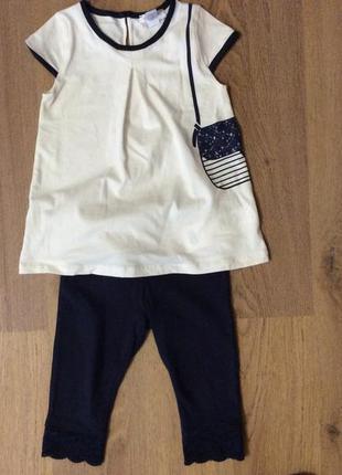 Детский костюм двоечка chicco на рост 86-92