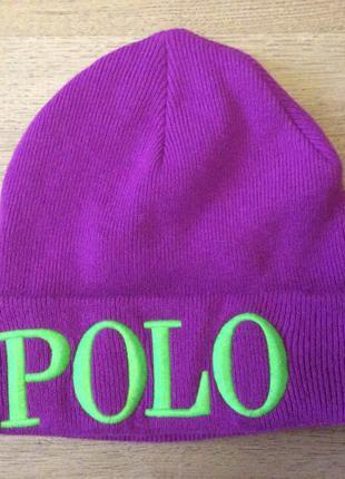 Крутая шапка polo ralph lauren оригинал oversize крутой состав