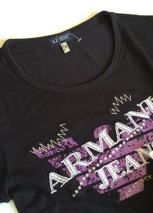 Женская футболка armani jeans slim fit оригинал италия  размер m