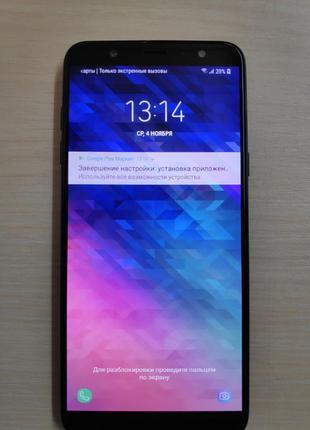 Смартфон Samsung Galaxy A6 Plus A605F 3/32 Black