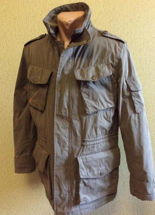 Зимняя  мужская куртка barbour оригинал р m (s)