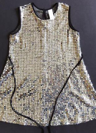Нарядное платье к празднику на 7-8 лет