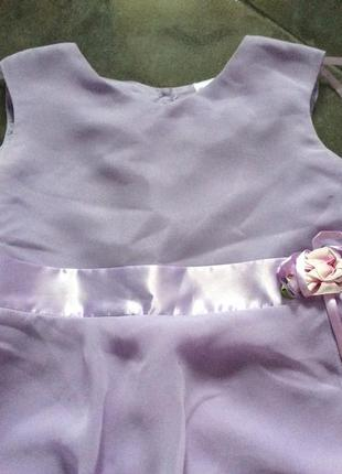 Нарядное платье на 9-10 лет