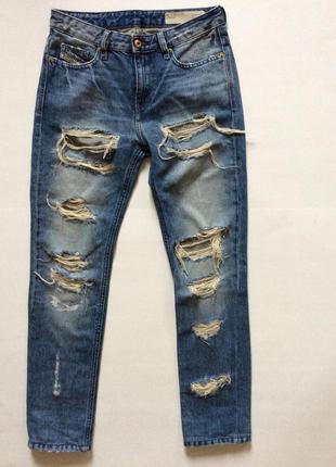Женские  джинсы diesel low waist w23, l 32 италия оригинал