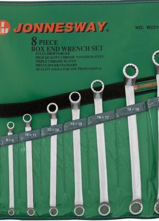 Набор ключей накидных 75-гр, 6-22 мм, 8 предметов