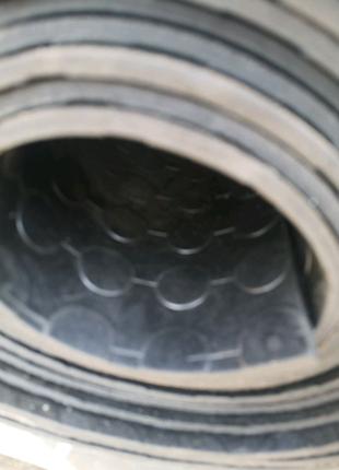Автодорожка резиновая монетка, полоска