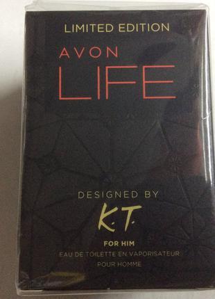 Парфюмерная вода Life for Him Avon