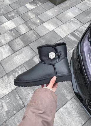 Ugg bailey button женские ботинки угги 🆕 угги на овчине🆕водоот...