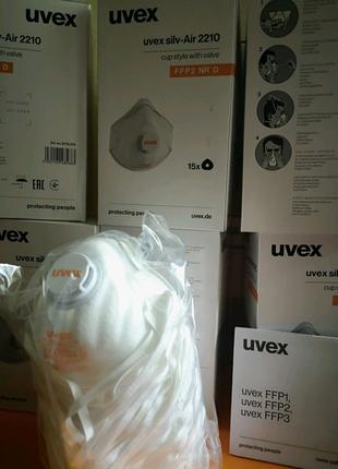 Респиратор с клапаном UVEX 2210 FFP2