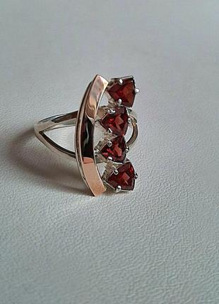 18 размер , кольцо 💍 серебро