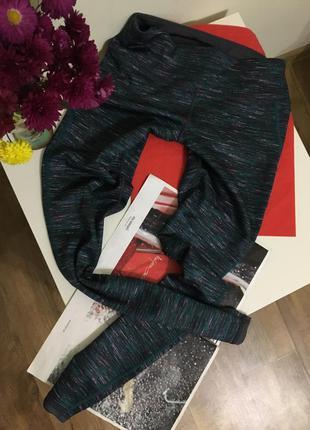 Компрессионные штаны tcm tchibo спорт лосины м