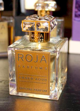 Roja Parfums Amber Aoud Crystal _Оригинал Parfum_3 мл затест