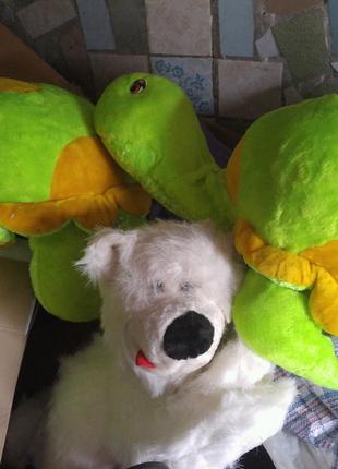 Мягкая игрушка черепаха медведь
