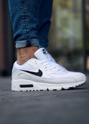 Nike air max 90 essential 🍏 стильные мужские кроссовки найк