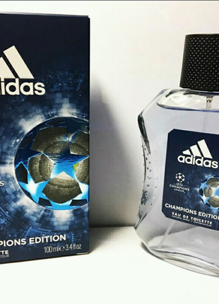 Туалетная вода  Адидас Adidas Uefa №4 Champion Edition 100 мл