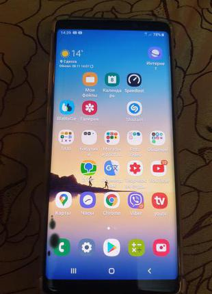 Sansung Galaxy Note 8. 6/64gb 1сим Snapdragon