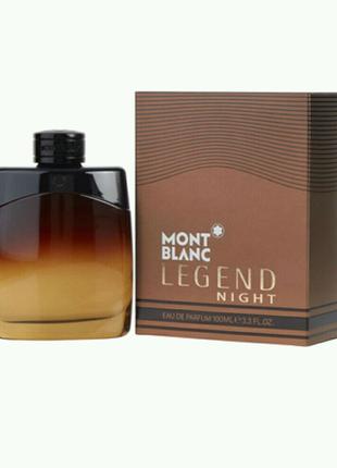 Туалетная вода  Для Мужчин Montblanc Legend Night