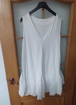 Лёгкое белое  платье , италия