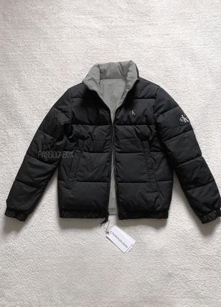 Пуховик, двусторонняя куртка Calvin Klein Jeans
