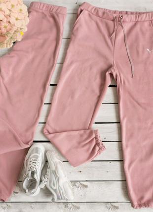 Женские спортивные штаны батал трехнитка флис