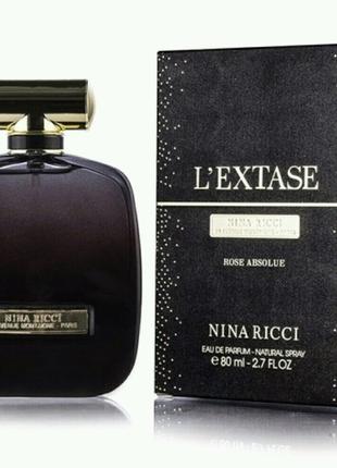 Парфюмированная вода женская Nina Ricci L'extase Rose Absolue,80