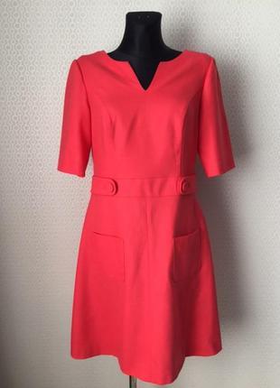 Новое (с этикеткой) классное шерстяное платье от boden, размер...