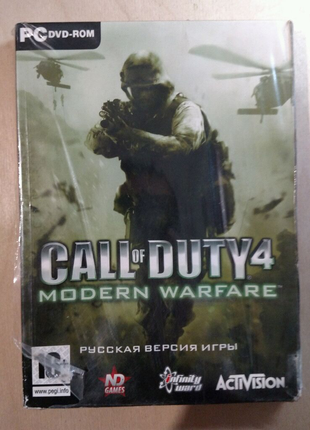 Игра Call of Duty 4 Modern Warfare лицензия для PC / ПК