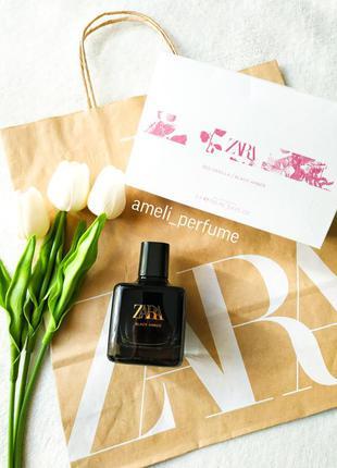 Zara black amber (edt 100 ml) (оригінальні парфуми, духи, туал...