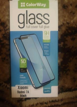 Новое стекло 5d на телефон Xiaomi redmi 7a