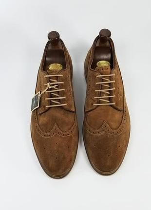 Мужские броги туфли