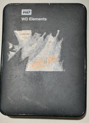 Внешний жесткий диск 2.5 Western Digital WD7500BMVW 750Гб