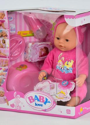 "Реборн функциональная кукла пупс Беби борн 35 см ""Baby Born"" 8..."