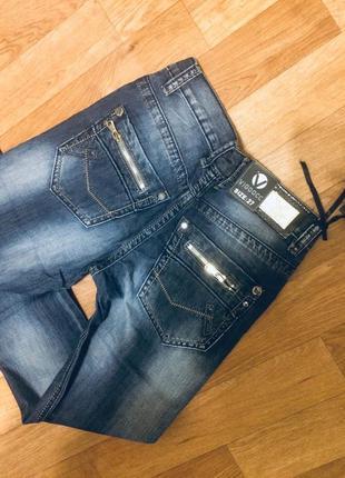 3205-4 Vigoocc джинсы на мальчика синие осенние размеры 24 -30
