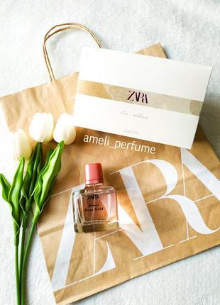 Zara woman rose gold (edp 80 ml) (оригінальні парфуми, духи, т...