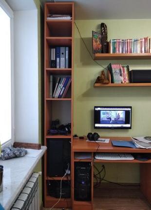 Шкаф офисный (узкий, высокий)