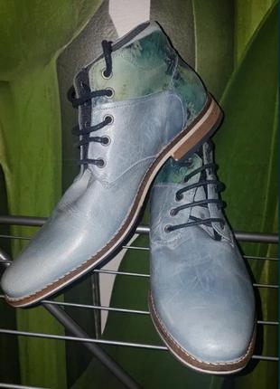 Ботинки унисекс весенние-осенние Vertice кожа 43 размер