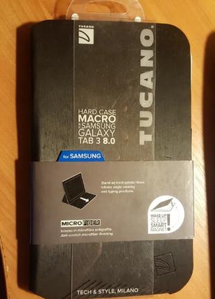 Чехол книжка Tucano для планшета Samsung TAB 3 8 дюйм
