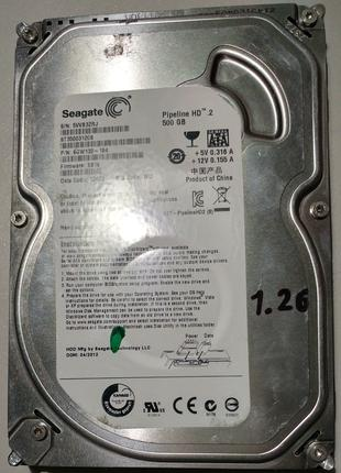 Жесткий диск 3.5 Seagate Pipeline HD.2 500Гб #3