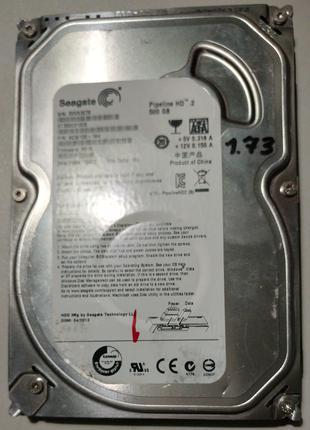 Жесткий диск 3.5 Seagate Pipeline HD.2 500Гб #4