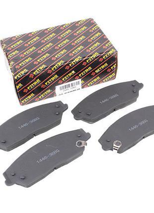 Колодки тормозные передние 1014014204 Geely - EX7, Geely - EC8,