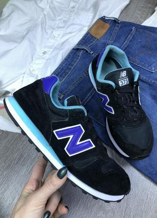 Качественные аккуратные кроссовки new balance 373