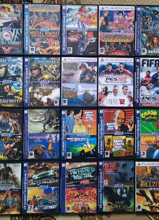 Продам Нові Диски Ігри для PlayStation 2/Плейстейшен 2/ПС2 .
