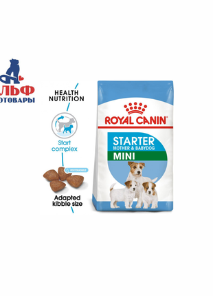 Royal Canin MINI Starter для щенков мелких пород до 2 мес. 8,5кг
