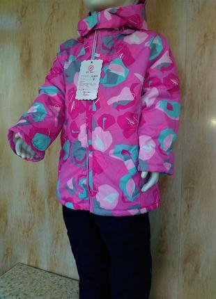 Красивенный зимний костюм комбинезон на девочку 1 год, 5 лет  ...